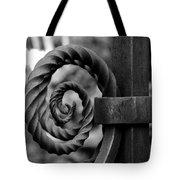 Iron Swirls Tote Bag