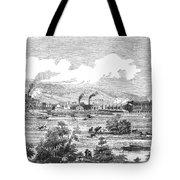 Iron Works, 1855 Tote Bag