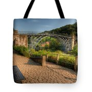 Ironbridge England Tote Bag by Adrian Evans