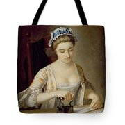 Ironing Tote Bag by Henry Robert Morland