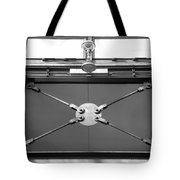 Ironworks In Black And White Tote Bag
