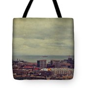 Is Anybody Out There Tote Bag by Laurie Search