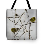 Is It Snowing On Your Side Tote Bag