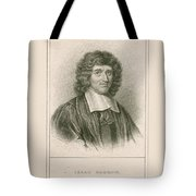 Isaac Barrow, English Mathematician Tote Bag