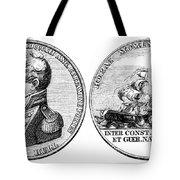 Isaac Hull: Medal Tote Bag