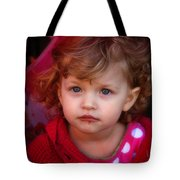 Isabelle - Chocolate Mouth Tote Bag