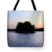 Island Evening Tote Bag