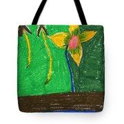 Island Flower Tote Bag