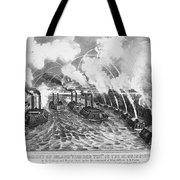 Island Number Ten, 1862 Tote Bag