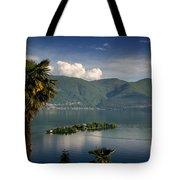 Islands On An Alpine Lake Tote Bag