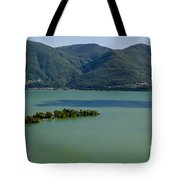 Islands On An Alpine Lake With A Shadow Tote Bag
