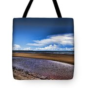 Isolated Beach  Tote Bag