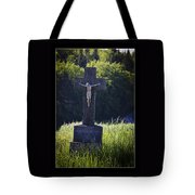 It Is Accomplished Tote Bag by Axko Color de paraiso