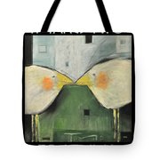 It Takes Two - Beak To Beak Tote Bag