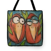 It Takes Two To Be Glad Poster Tote Bag