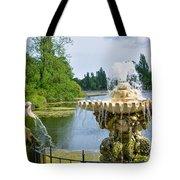Italian Fountain London Tote Bag