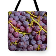 Italian Red Grape Bunch Tote Bag