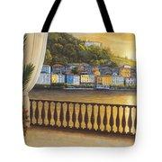 Italian View Tote Bag by Diane Romanello