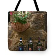 Italian Wine And Flowers Tote Bag