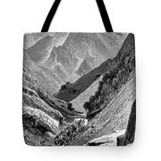 Italy: Carrara Mountains Tote Bag