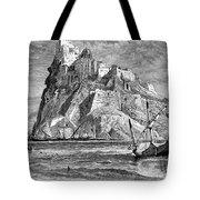 Italy: Castle Of Ischia Tote Bag