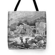 Italy: Earthquake, 1881 Tote Bag
