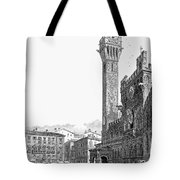 Italy: Siena, 19th Century Tote Bag by Granger