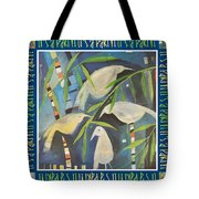 Its A Party Poster Image Tote Bag