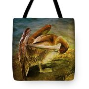 It's Cleaning Day By Pelicans Tote Bag