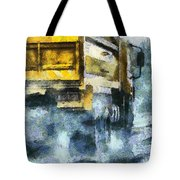 It's Raining Cats And Gogh's  Tote Bag