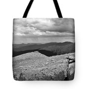 It's Raining In The Distance Tote Bag