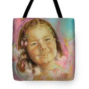 Ivana's Portrait Tote Bag