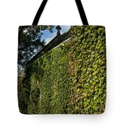 Ivy Covered Chapel Tote Bag