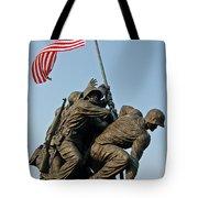 Iwo Jima Memoria 2 Tote Bag