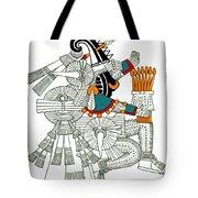 Iztlacoliuhqui, Aztec God Of Frost Tote Bag