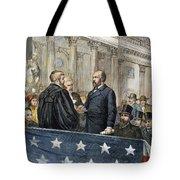 J. A. Garfield: Inauguration Tote Bag by Granger