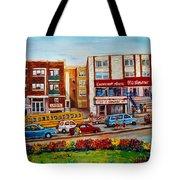 J Slawner Ltd Cote Des Neiges Tote Bag