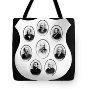 J.a. Garfield: Cabinet Tote Bag