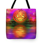 Jack And Friends By The Waters Edge Tote Bag