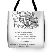 Jack And Jill, 1833 Tote Bag
