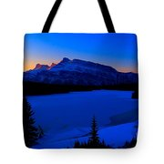 Jack Frost Blues Tote Bag