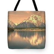 Jackson Lake Reflection Tote Bag