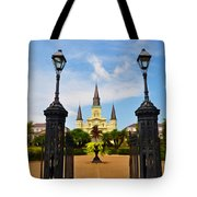 Jackson Square In New Orleans Tote Bag