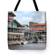 Jacksonville Florida Landing Tote Bag