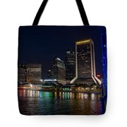 Jacksonville Florida Riverfront Tote Bag