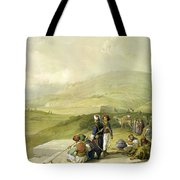 Jacobs Well At Shechem  Tote Bag