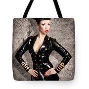 Jade Vixen Military 1143 Tote Bag