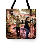 James Dean Hanging Out Tote Bag