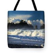 James Island Surf Tote Bag
