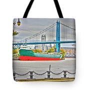 James M Schoonmaker And The Hi-level Bridge Tote Bag